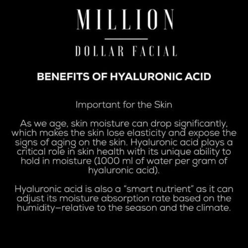 million-dollar Facial Benefits